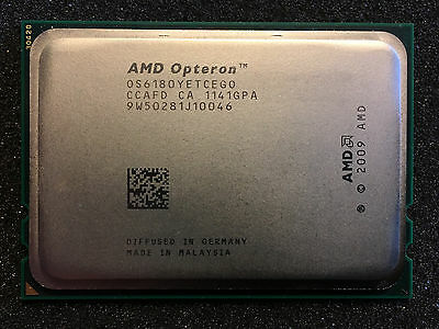 AMD Opteron 6180 SE 2.5GHz Twelve Core OS6180YETCEGO Processor