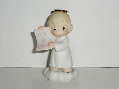 Precious Moments Growing in Grace figurine birthday It's a Girl infant 136204