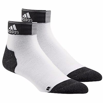 2 PAIRS Adidas Energy Running Cushioned Ankle SPORTS TRAINING Socks 61/2 TO 8