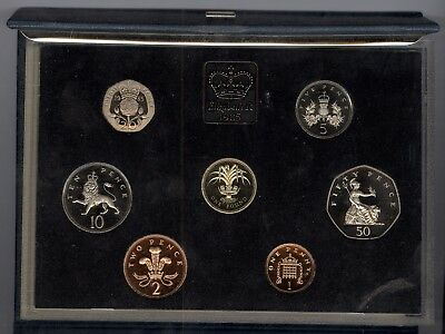 1985 United Kingdom Proof Coin Collection (Royal Mint)