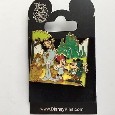 Disney Pin Movie Moments Wizard Of Oz Mickey Goofy Minnie Donald