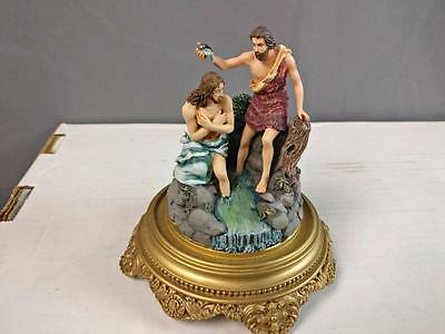 """THE FRANKLIN MINT """"JESUS - The Baptism Of Christ  - USED"""