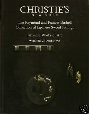 CHRISTIE'S Japanese Sword Fittings Inro Bushell Coll Auction Catalog 1998