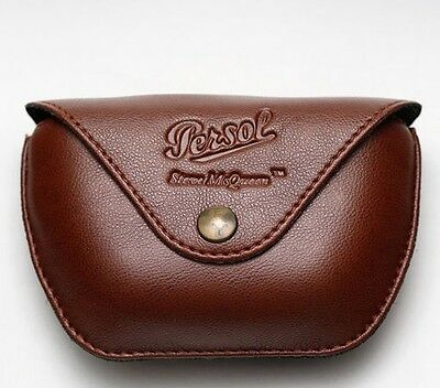 Astuccio Originale Occhiali Persol 714 Sm Folding Case Leather Steve Mcqueen