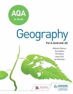 AQA A-level Geography Fourth Edition by Ian G. Whittaker 9781471858697