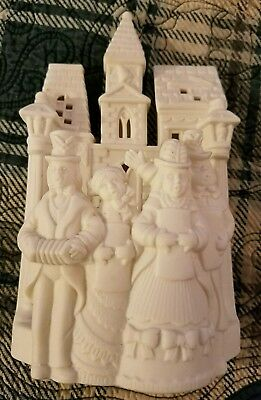 PARTYLITE Carolers Candle Holder
