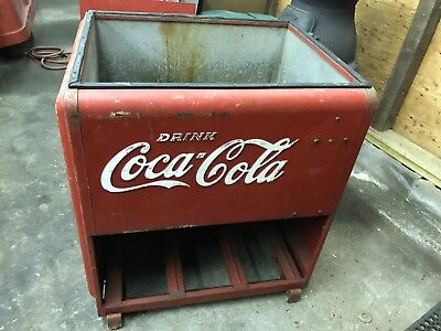 1939 Coca Cola Cooler Chest