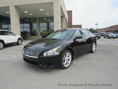2013 Nissan Maxima 4dr Sedan 3.5 S 4dr Sedan 3.5 S Automatic Gasoline 3.5L V6 Cyl BLACK
