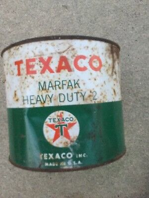 Texaco Marfak Heavy Duty 2 ---Metal Can 5lbs