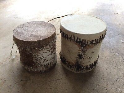 2 Authentic African Drums