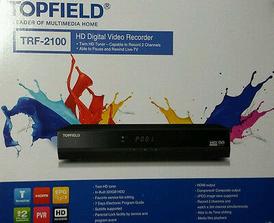 TRF-2100 HD Digital Video Recorder Tuner 320GB TOPFIELD