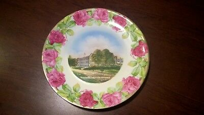 Rare Greenbrier Hotel Collectible Plate from the mid 1900's 8 inch diameter