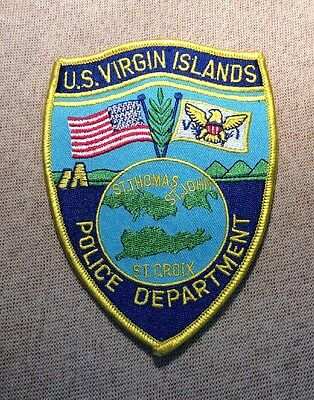 US United States Virgin Islands Police Patch