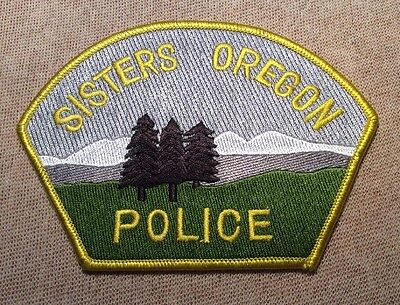 OR Sisters Oregon Police Patch