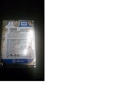 500GB Samsung Hard Disk Drive HDD for laptops