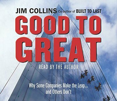 Good To Great - Collins, Jim CD 3XVG The Cheap Fast Free Post The Cheap Fast