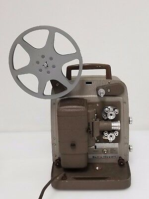BELL & HOWELL #254R 8 mm MOVIE FILM PROJECTOR