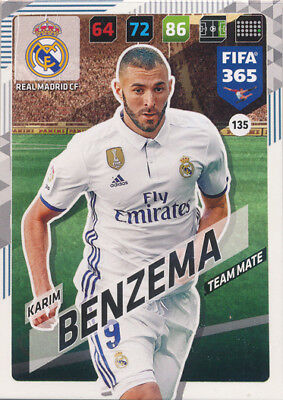 Panini Adrenalyn XL Liga 2018//2019Cromo//Card #235-252 Real Madrid CF