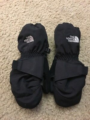 Toddler Youth Child size 4T The NORTH FACE Black Mittens gloves winter