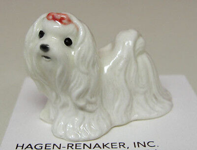 ➸ HAGEN RENAKER Dog Miniature Figurine Maltese