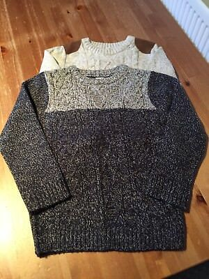 2 X Boys Winter Jumpers Age 6-7 Years