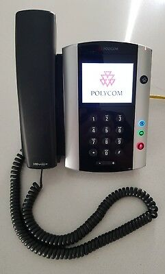 Polycom VVX500 SIP phone handset voip poe, 21 available, 12mth replacement wty.