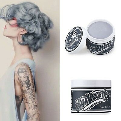 UNISEX  Superhold Hair Wax 8 Color Long Lasting Cream Hair Gel Strong Hold New