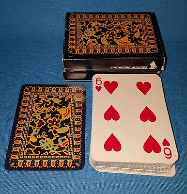 Playing Cards SINGAPORE AIRLINES Spielkarten