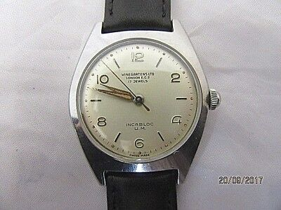 1950's Winegartens Ltd of London Wrist Watch in Working Order