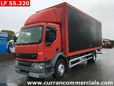 2005 Daf LF 55.220 18 Ton 4x2 on air 26ft box body roller door low Kms!