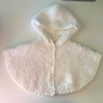 Pumpkin Patch  Gorgeous Soft Baby Poncho Cardigan 00 / 000 -Clearout Starts $1