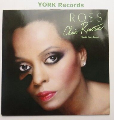 """DIANA ROSS - Chain Reaction - Excellent Condition 12"""" Single Capitol 12CL 386"""