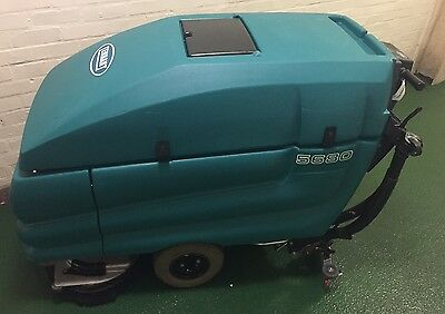 Tennant 5680 Heavy Duty 700mm Pedestrian Scrubber Dryer, 58 Hours, Serviced