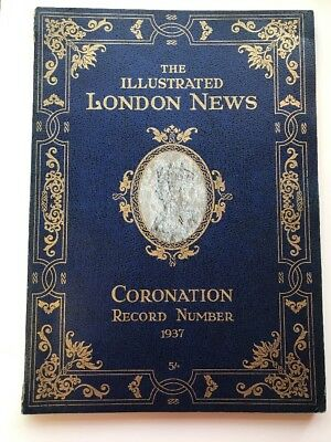 Vintage The London Illustrated News Coronation Record Number 1937