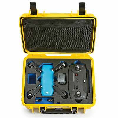 B&W DJI Spark Case 1000 yellow