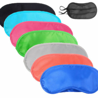 New Soft Comfortable Travel Relax Sleep Masks Eyes Shade Cover Shade Blindfold