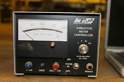 Mt Mechanical Technology Vibration Meter Controller