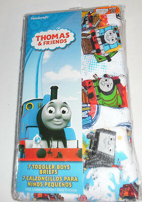Thomas Friends Tank Engine Train Underwear Cotton Briefs Toddler Boys 2T/3T NIP