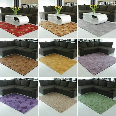 New Carpet MIX rug mat floor area rugs room home grey large small cheap modern
