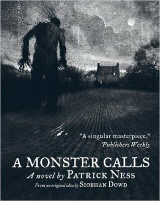 A Monster Calls: Illustrated Paperback, New, Dowd, Siobhan, Ness, Patrick Book