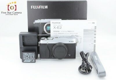 Excellent+++!! Fujifilm X-E2 16.3MP Digital Mirrorless Camera Silver from Japan