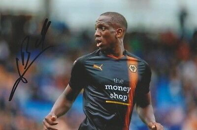 Willy Boly (Wolves) Signed 6X4 Photo +Coa
