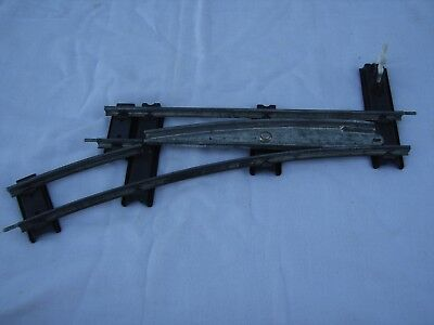 Hornby O gauge 1 pair of points left & right vintage