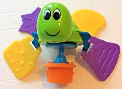 Evenflo Exersaucer Switch A Roo Toy Replacement Part Turtle Teether Smart Step