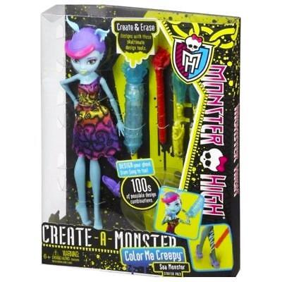 Monster High Create A Monster Colour Me Creepy Sea Monster Doll