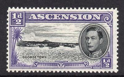 Ascension 1/2d Stamp c1938-53 Mounted Mint SG38b Perf 13