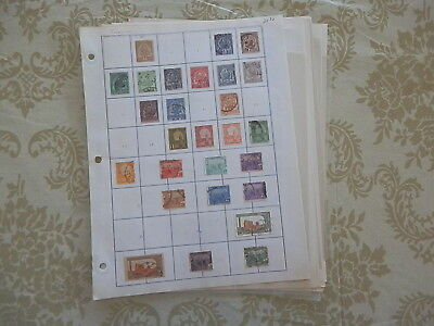 Tunisia Excellent Old Collection On Pages Dr Schultz Estate !!9000T