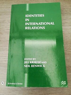 Identities in International Relations by Palgrave Macmillan (Paperback, 1996)