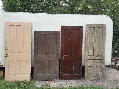 RECLAIM 16 Antique Vintage Solid Wood FARM House Doors & CABINET PANTRY DOORS