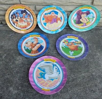 Vintage McDonalds/Disney Plates~Hercules~Set of 6